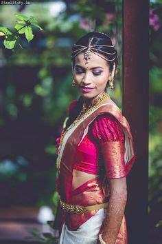 puff sleeves blouse  bridal sarees blouse pinterest