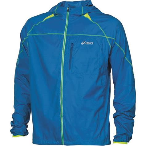 Jaket Asics wiggle asics fuji packable jacket ss13 running