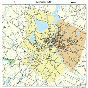 auburn maine map 2302060