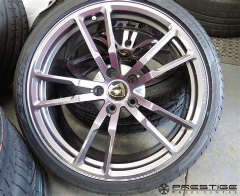 Lamborghini Alloy Wheels Lamborghini Gallardo Performante Alloy Wheel Refurbishment
