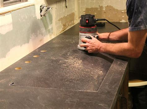 The Craft Patch How To Diy Laminate Countertops An Undermount Sink In Laminate Countertops Undermount Sink Laminate Countertops And Countertops