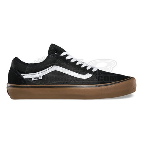 Vans Oldskool Whitegum Premium Bnib vans skool pro shoes black gum white
