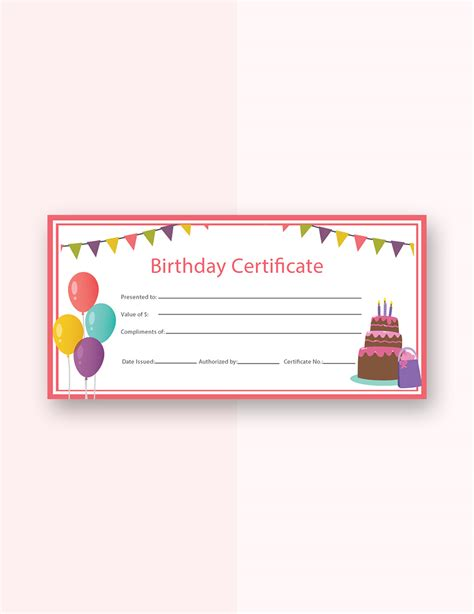 templates for gift certificates free downloads free birthday gift certificate templates certificate