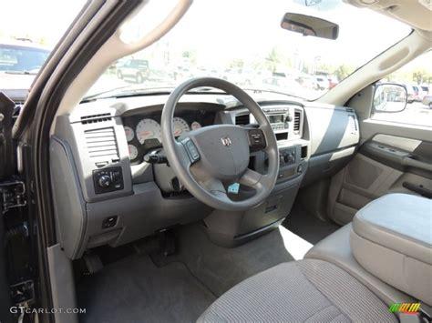 2008 Dodge Ram 1500 Interior by Medium Slate Gray Interior 2008 Dodge Ram 1500 Slt