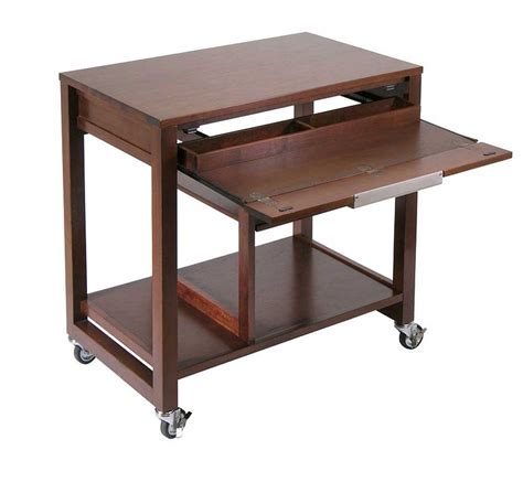 computer desks with wheels portable computer desk with