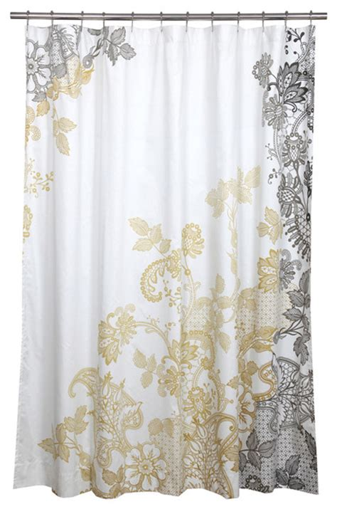 houzz shower curtains evita shower curtain contemporary shower curtains by