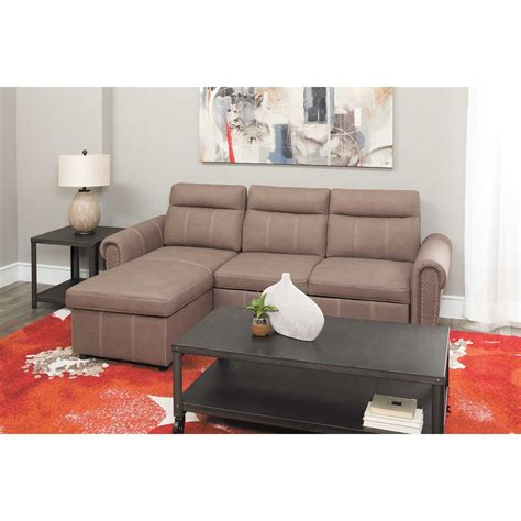sectionals with pull out bed farrel 2 piece sectional with pull out bed 1a far 2pc