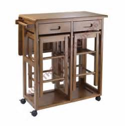 Portable Kitchen Island With Bar Stools 3 Small Table Set Stools Compact Island Portable Bar