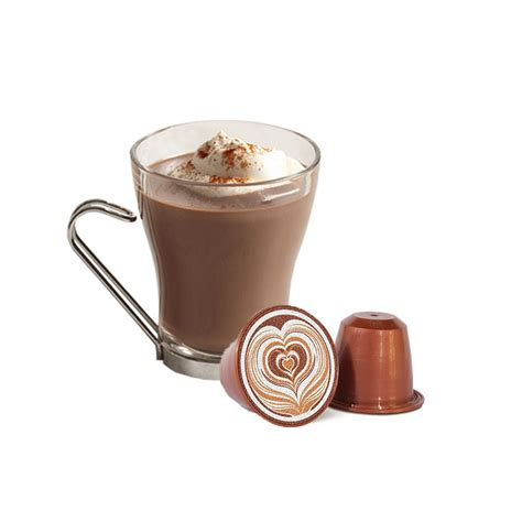 Hot Chocolate   Nespresso compatible capsules   Coffee Capsules Direct