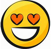 Smiley Jaune Emoji Yellow Sourire Smile Amoureux In Love