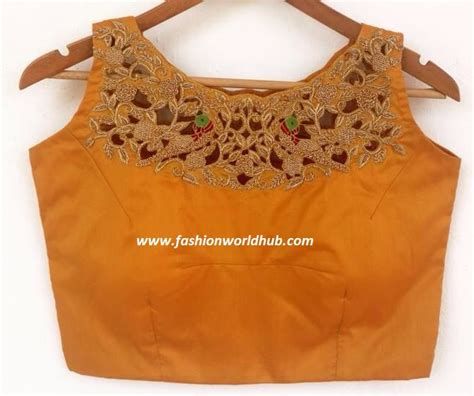 how to cut saree blouse in kannada image of blouse and - Boat Neck Blouse Cutting In Kannada