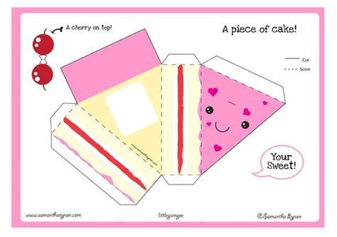 food papercraft template kawaii crafts kawai world papercrafts bolsitas cajitas