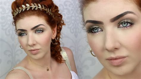 ancient roman hairstyles and makeup historically accurate makeup tutorial ancient rome youtube