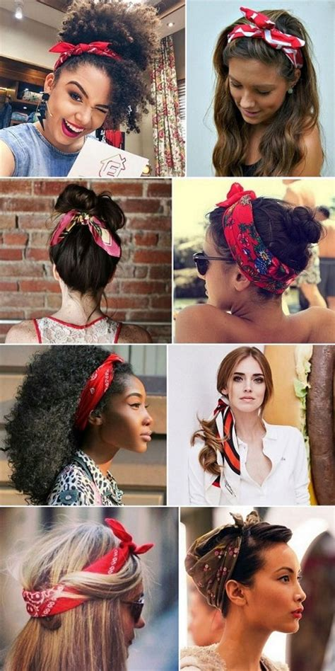 Hairstyles With Bandanas by Beautiful Bandana Hairstyles For