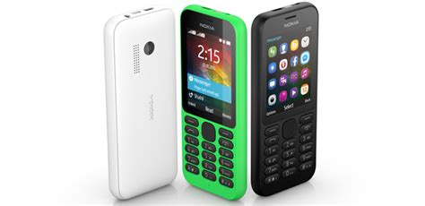 nokia new phones 2015 new nokia 215 feature phone announced by microsoft at ces