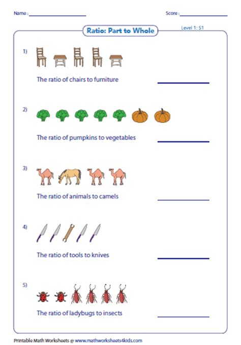 printable math worksheets on proportions worksheets on ratios worksheets releaseboard free