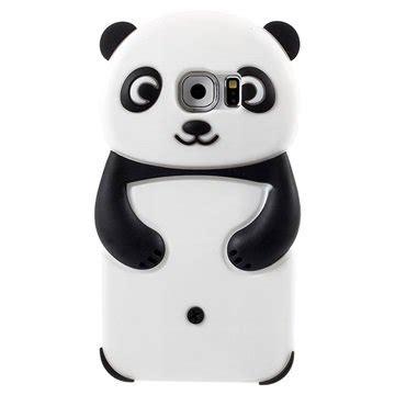 Iphone 6g Silikon 3d Cover Silikon coque en silicone panda 3d pour samsung galaxy s6