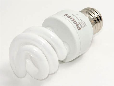 Lu Philips Spiral 40 Watt philips 40 watt incandescent equivalent 11 watt 120 volt warm white spiral cfl bulb el mdt