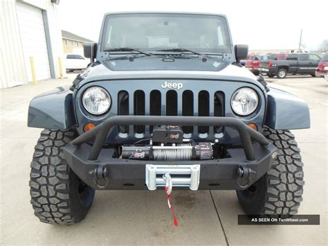 2008 Jeep Wrangler Bumper 2008 Jeep Wrangler Unlimited 4x4 Soft Top