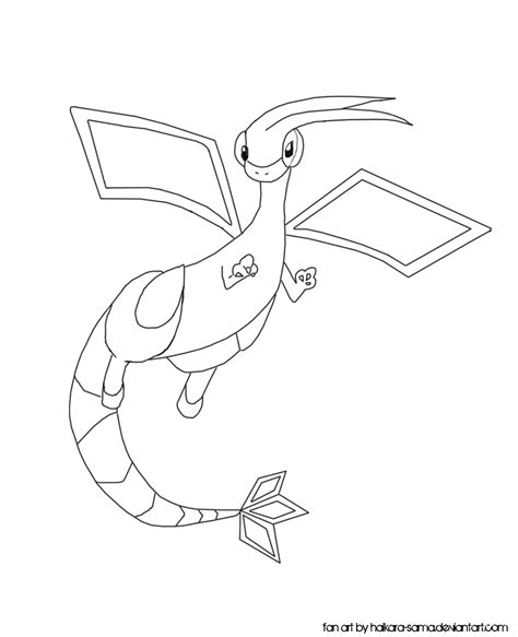 pin pokemon flygon colouring pages ajilbabcom portal on pinterest