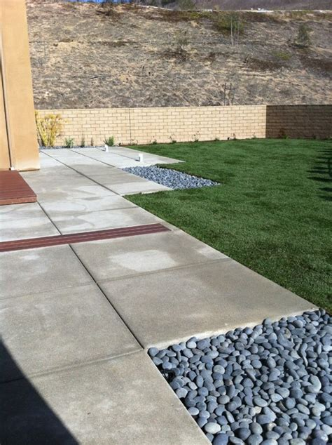 Aggregate Patio by Fiberon Deck And Exposed Aggregate Concrete