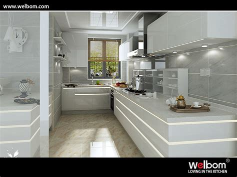 Polyurethane Kitchen Cabinets China Intelligent Gloss Polyurethane Kitchen Cabinet Photos Pictures Made In China