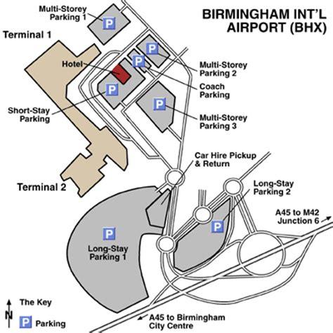 birmingham uk airport map birminghan international airport airport maps maps and