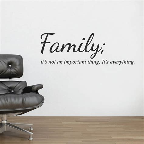 Baroque Wall Stickers family wall sticker decal quote mural wall vinyl stencil words