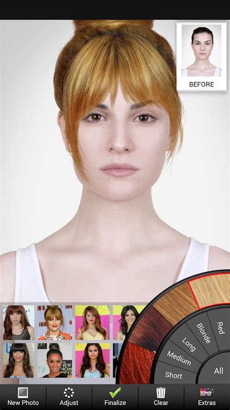 hairstyles modiface app celebrity hairstyle salon android apps on google play