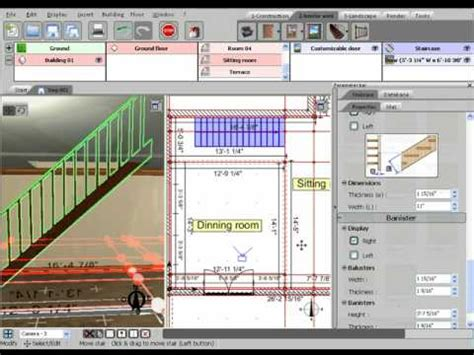 3d home design software tutorial 3d home design by livecad tutorials 07 staircase youtube