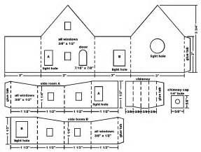 Make A House Plan Building A Vintage Style Cardboard Log House