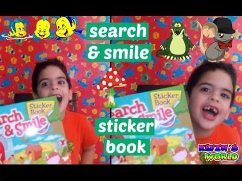 libro smile or get out animal stickers book lear smile smile every page animals
