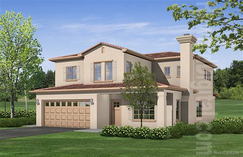 home renderings house illustration valero