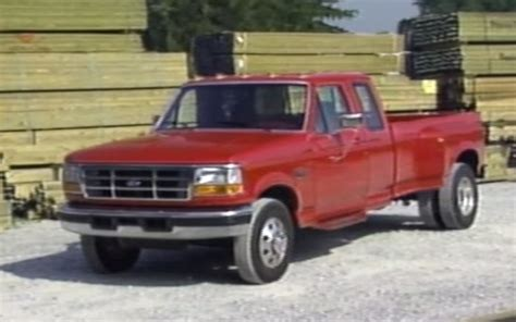 Garage Planning Flashback Watch A Classic 1996 Dually Shootout Ford