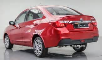 Proton Saga Price 2016 Proton Saga 1 3l Launched Rm37k To Rm46k