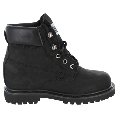 womans work boot safetygirl ii steel toe waterproof women s work boots black