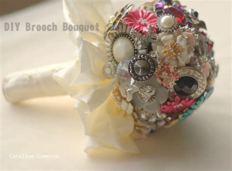 diy how to make a bouquet for a photoshoot green wedding shoes diy brooch bouquets tea is the answer
