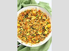 Vegetable Carrot Fried Rice - Carrot Veggie Turmeric Pilaf ... Raw Cashews Calories 1 Cup