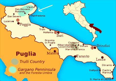 map of foggia italy padre pio stigmatist priest