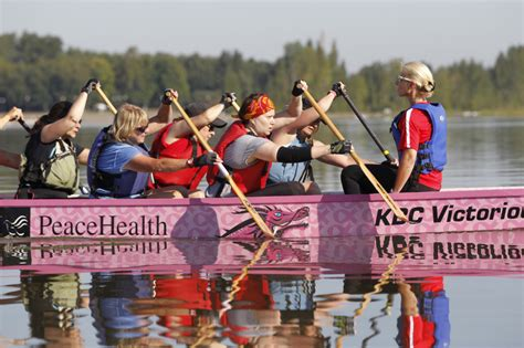 dragon boat racing and breast cancer women in dragon boat racing embody survivors mentality