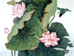 Lotus Leaf Painting
