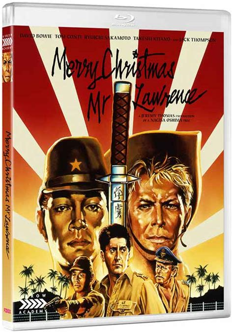merry christmas  lawrence  blu ray unique war film