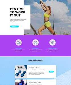 personal landing page template for elementor free elementor template library free pro templates for wordpress