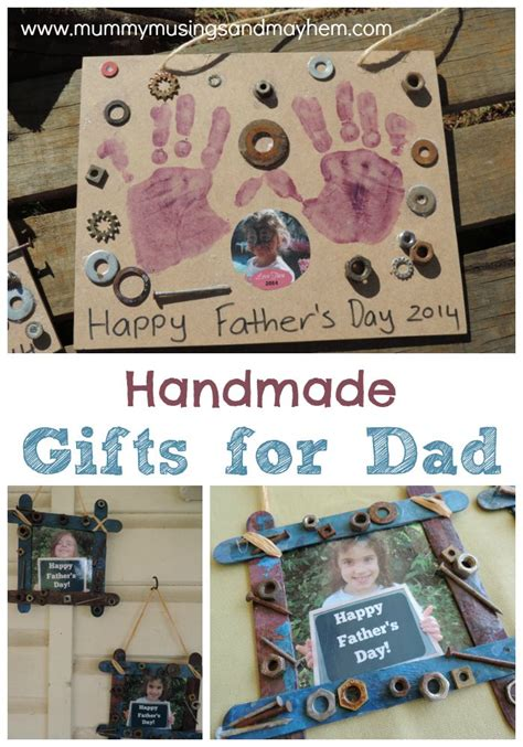 Handmade Gifts For Fathers Day - children s handmade gifts for s day the empowered