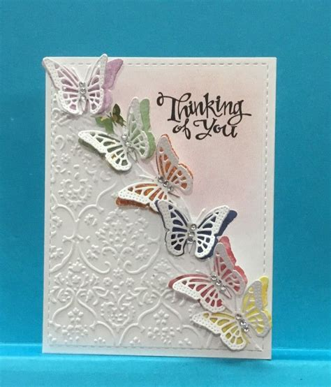 Handmade Cards With Butterflies - 25 best ideas about butterfly cards on cards