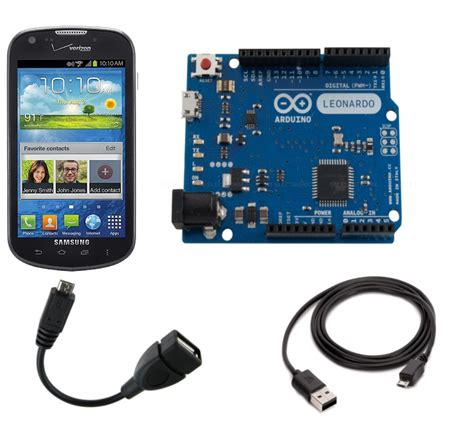what is an android device controlling an arduino from an android phone or tablet