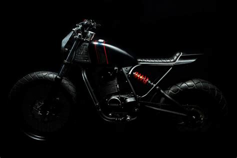 Kaos Ripper Black for motorcycle fans the legend honda cb100
