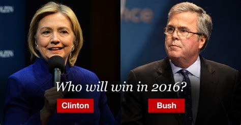 Bush Vs Clinton clinton vs bush in 2016 the national memo smart