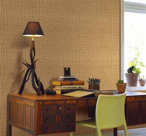 tips memilih motif wallpaper  ruang kerja nirwana