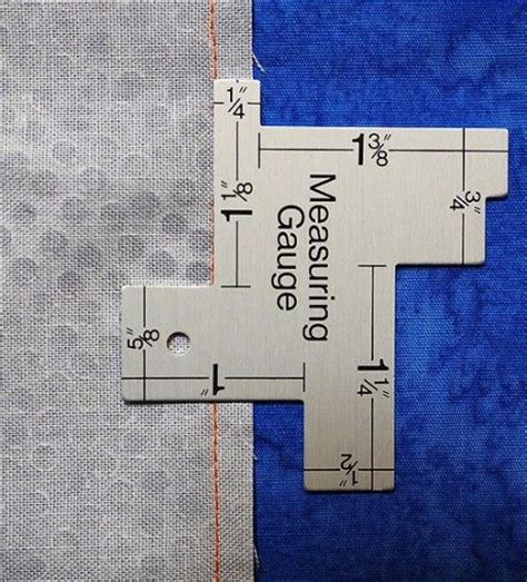 Quilting Measuring Tools gauges quilting and sewing tools on